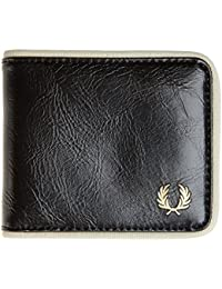 Fred Perry Billfold Homme Wallet Noir