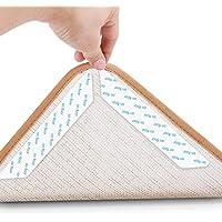 Jooheli Teppichgreifer Antirutschmatte, 16 Stück Antirutschmatte für Teppich, Rug Grippers Rutschfester Teppichunterlage…