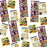By Robelli Pack Of 250 Kids Fun Halloween Stickers