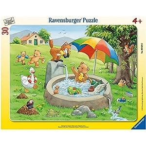 Ravensburger Puzzle 06629–Baño Diversión en verano–Marco (30piezas puzzle
