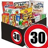 30. Geburtstag | Ossi Produkte | mit Mintkissen Viba, Zetti Cocosflocken und mehr | GRATIS DDR Kochbuch | Süße Geschenke