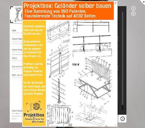 Geländer selber bauen: Deine Projektbox inkl. 390 Original-Patenten bringt Dich mit Spaß ans Ziel! (Spa-geländer)