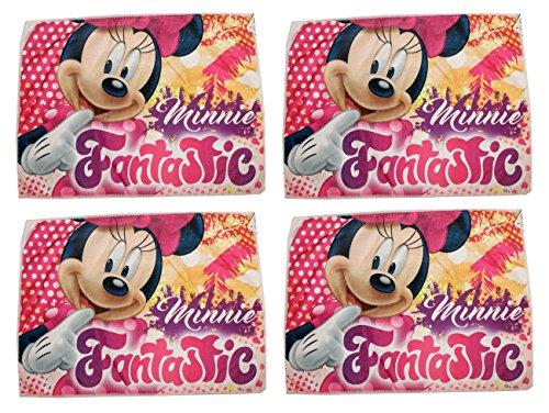 Lot de 4 Disney Minnie Mouse Gants 40 x 31 cm