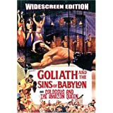 GOLIATH AND THE SINS OF BABYLON (Maciste, der Stärkste unter der Sonne) & COLOSSUS AND THE AMAZON QUEEN (Ursus im Reich der Amazonen) - DVD - englisch