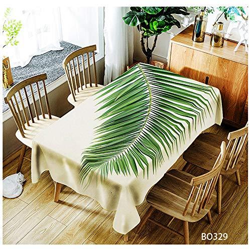 QWEASDZX Tischdecke Polyester Nationaler Stil Antifouling Hitzebeständig Rechteckige Tischdecke Wiederverwendbar Multifunktionale Tischdecke Theme Tischdecke 150x210cm -