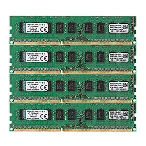Kingston - 32 Go - Mémoire RAM - DDR3 ECC 1600 MHz - Vert