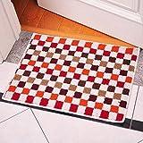 E Support? Antideslizante Mat cocina Mosaico de la alfombra alfombra del piso interior / exterior de la sala de estar Dormitorio Cocina sólido decorat