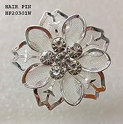 FANCY HAIR PIN (HP20301W)