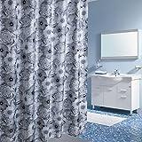 YY Drucken Duschvorhänge Duschvorhänge Bad wasserdichtes Polyester Tuch, um hängende Vorhänge dicker Badezimmer Zubehör