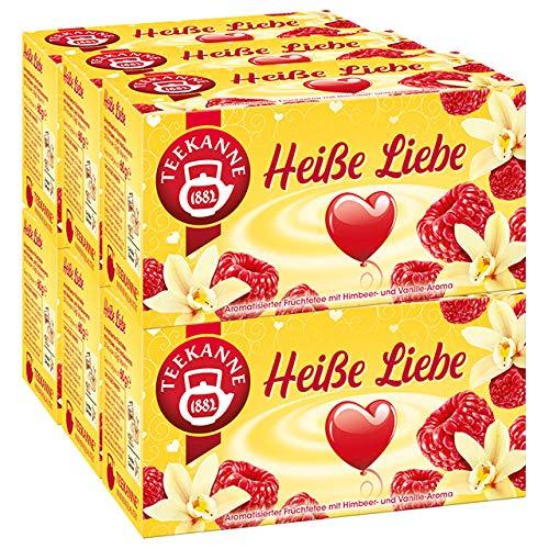 Teekanne Heiße Liebe 6er Pack -