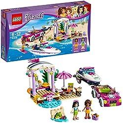 LEGO Friends - Le transporteur de hors-bord d'Andréa - 41316 - Jeu de Construction