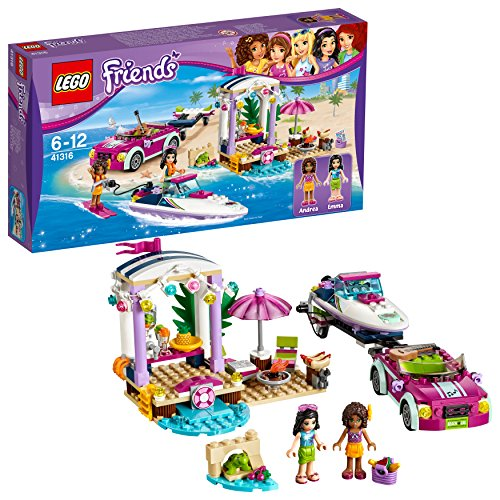 LEGO Friends 41316 – Andreas Rennboot-Transporter