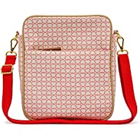 Rosa forro fuera y sobre Mini bolso cambiador Bolso para pañales–True Love