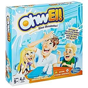Hasbro Egged On Game Niños y Adultos Party Board Game - Juego de Tablero (Party Board Game, Niños y Adultos, Niño/niña, 5 año(s))
