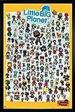 Little Big Planet 3 Poster Charaktere (66x96,5 cm) gerahmt in: Rahmen schwarz
