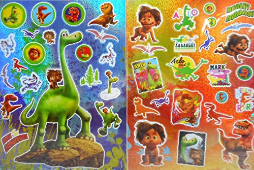 Lizenzartikel 2 The Good Dinasaur Dino Stickerbogen 26 x 20 cm Sticker Aufkleber Deko GAC B6