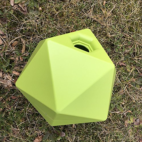 Leckerli Ball Cube Pferdespielzeug Spielball für Futter Belohnung Farbwahl, Farbe:gruen