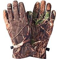 ABOOFAN - 1 paio di guanti da caccia mimetici per attività all'aria aperta