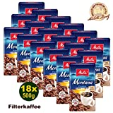 Melitta MONTANA Premium Filterkaffee 18x 500g (9000g) - Melitta Café gemahlen