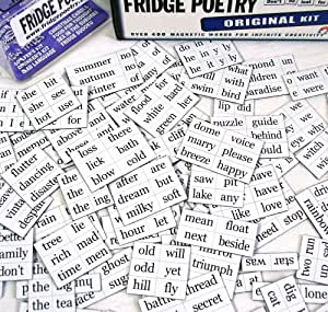 The Original Fridge Poetry Magnet Set