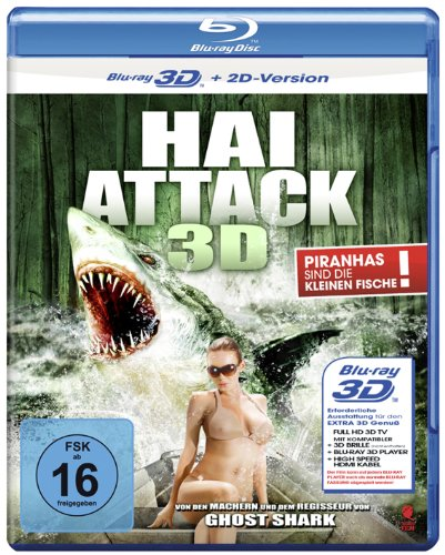 Bild von Hai Attack (Swamp Shark) [3D Blu-ray + 2D Version]