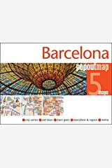 Barcelona PopOut Map (PopOut Maps) Map