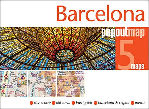 Popout Map Barcelona (PopOut Maps)
