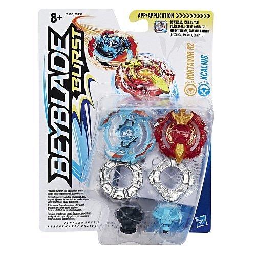 Beyblade - Burst Dual Pack Roktavor R2 & Xcalius...