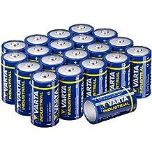 Varta Batterien 4020 LR20 Mono D (Made in Germany, für energieintensive Geräte z.B. elektronisches Spielzeug, Vorratspack 20 Stück)