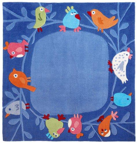 Imagen principal de Haba Jeux - Alfombra, diseño de pájaros