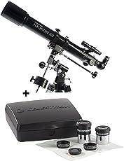 Celestron Powerseeker 70Eq Refractor Telescope + Powerseeker Accessory Kit