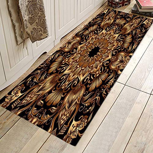 Wingbind Tapis Non Slip Grande Porte Vintage Chic Patterned Carpet Tapis De  Sol Tapis D