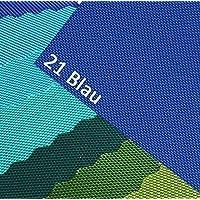 OXFORD 600D Colore 21 Blu Tessuto In Poliestere 1 lfm ESTERNI impermeabile estremamente resistente agli strappi robusta PVC Al metro Copertura Di Tela Tenda Borsa Zaino