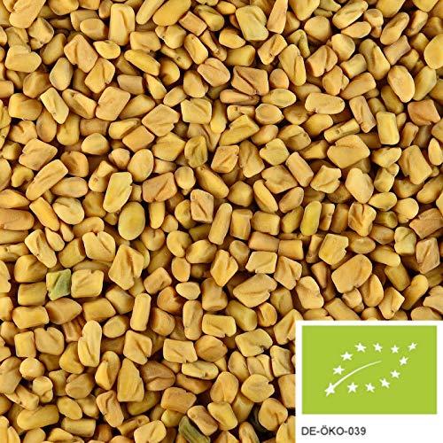 250g di semi di fieno greco BIO: semi di fieno greco intero per insalate, tè o per speziare, senza additivi