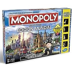 Monopoly - Edición mundial (Hasbro B2348546)