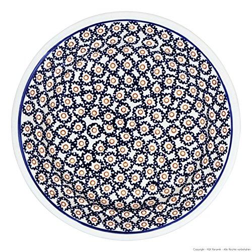 Bunzlauer keramik assiette creuse assiette creuse pour pâtes ø21.8 cm, h = 4 cm décor 4