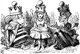 Alice in Wonderland and Through the Looking Glass by Lewis Carroll and Illustrations by Arthur Rackham by [Carroll, Lewis]