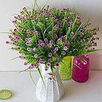 benhai 1pc gastos Beaux – Maceta de flores falso ramo de rosas verdes de pequeña decoración