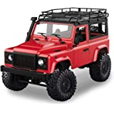 RC Car 1:12 Scale 4WD 2.4G Rock Crawler Four-Wheel Drive Vehicle Model High Speed Off Road Remote Control Truck With LED Ligh