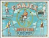 Herbé TM Poster/Reproduction 30x42cm d'1 Affiche Vintage/Ancienne Cirque F. HAJEX Grand Monocle