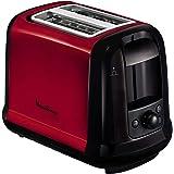 MOULINEX Subito Grille pain 2 fentes rouge toaster Thermostat 7 position Décongetaion Rechauffage Remontrée extra haute…