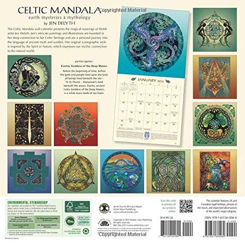 Celtic Mandala 2016 Calendar: Earth Mysteries & Mythology