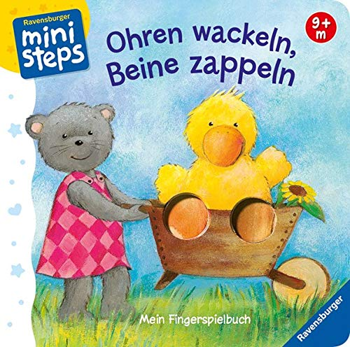 Ohren wackeln, Beine zappeln: Ab 9 Monaten (ministeps Bücher) (Monate 9 Baby-bücher)
