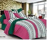 MeePra Polka Dot Double Bedsheet With 2 ...