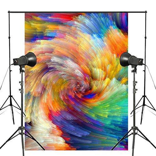Pb Zone 5* 7ft Abstract Colorful Fotohintergrund Swirl Kunst Foto Studio Requisiten Wand dw174 - Pb Swirl