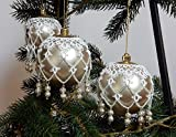 Tatting, Occhi, Kugel Tattoo, Weihnachtskugel Dekoration, Weihnachten. Weihnachtsschmuck, Weihnachtsbaum, Christbaumschmuck