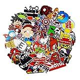 Aufkleber Pack [100-pcs] Graffiti Sticker Decals Vinyls für Laptop, Kinder, Autos, Motorrad,...