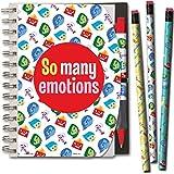 Disney Inside Out ordinateur portable et stylo et Lot de crayons avec sac de transport 5x 7
