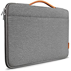 Inateck 13-13,3 pollici custodia protettiva borsa per Macbook Air/Macbook Pro Retina/13'' MacBook Pro 2016&2017&2018/12,3'' Surface Pro 1/2/3/4/Surface Pro 2017/Surface Laptop 2017. grigio scuro