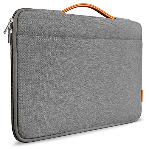 Inateck 13-13,3 Zoll Sleeve Hülle Ultrabook Laptop Tasche kompatibel mit 13,3 Apple MacBook Pro Retina/MacBook Air und Surface Pro6/Surface Pro 2017/4/3, Dunkelgrau